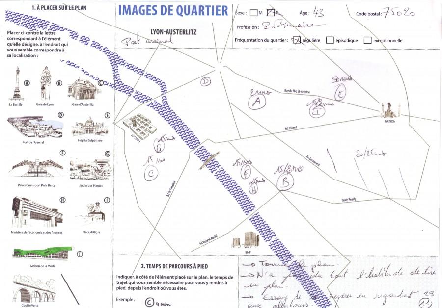 Plan Paris-questionnaire